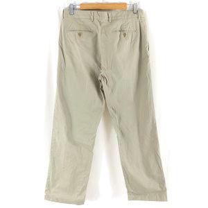 Express Pants - Express Mens Khaki Pants Director Stretch Beige 33
